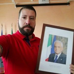 """Ostia, Marsella (Casapound): """"Tolto quadro di Mattarella da aula Municipio X"""". Il Pd lo denuncia"""