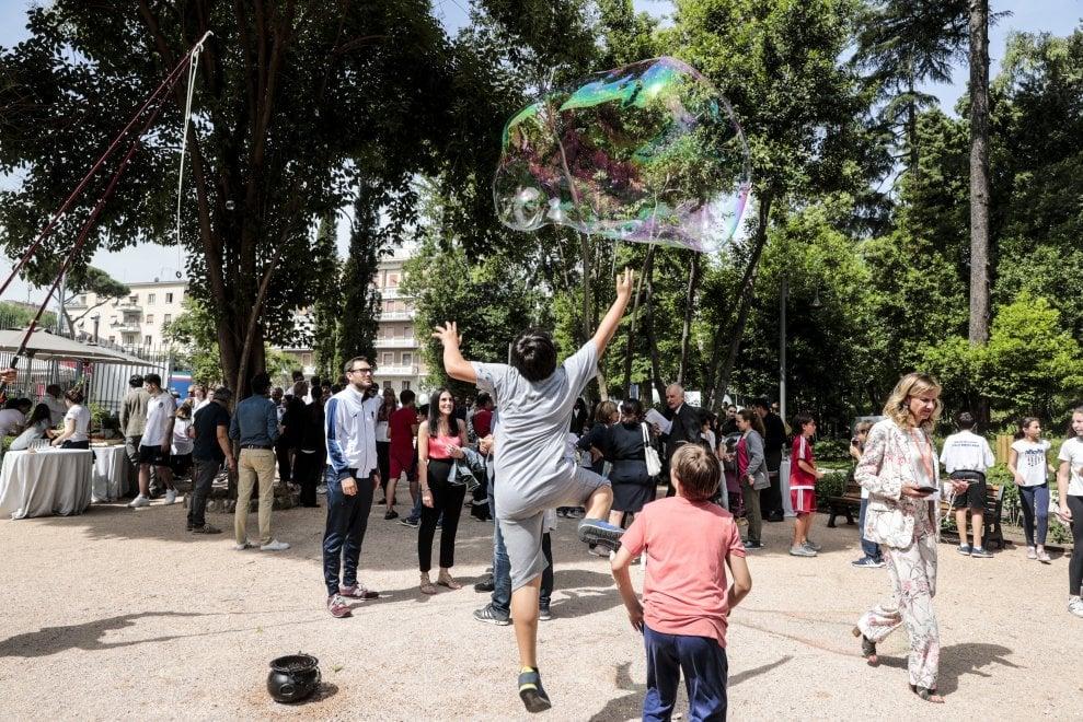 Roma, dopo sei anni di restauro riapre al pubblico il parco di Villa Blanc