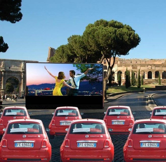 Roma, un 'drive in al Colosseo' arriva il progetto Videocittà