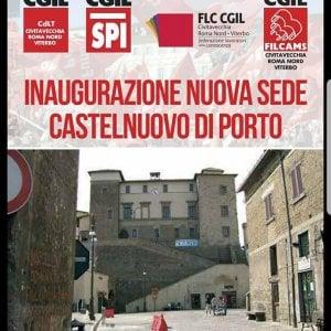 """Castelnuovo di Porto, apre la nuova sede del Spi-Cgil: """"Più diritti e solidarietà"""""""
