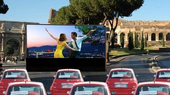 """Drive in al Colosseo e caccia al tesoro nelle sale dei cinema, nasce """"Videocittà"""""""