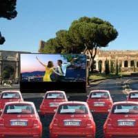Drive in al Colosseo e caccia