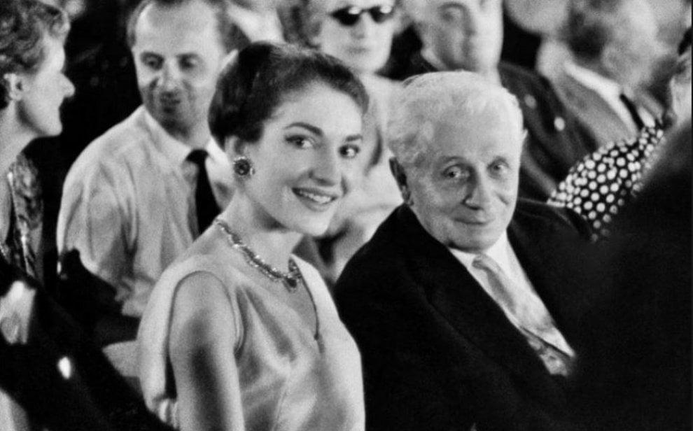 La divina Callas e il suo mentore: doppio omaggio del teatro dell'Opera a Tullio Serafin