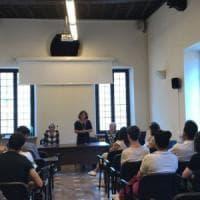 Roma, i ragazzi del Socrate ricevuti in sinagoga dopo il saluto romano