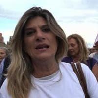 Ostia, la manifestazione di solidarietà con Federica Angeli