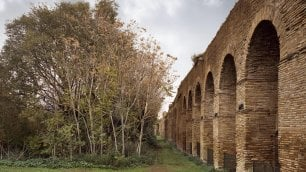 Le mura aureliane  negli scatti di Jemolo