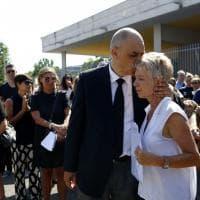 Ostia, il funerale di Noemi Carrozza: