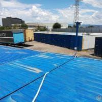 Roma, scoperto un deposito di merci abusivo con 250 container