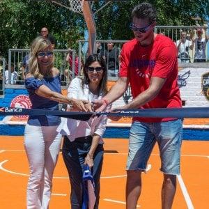 Basket a Roma, riapre il campo della Cecchina: Gallinari ospite d'onore