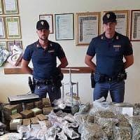 Fiumicino, base dello spaccio scoperta dalla polizia