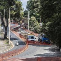 Roma, rallentamenti traffico per lavori sul ponte Principe Amedeo di Savoia