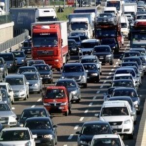 Roma, viabilità, traffico intenso anche per sciopero Tpl