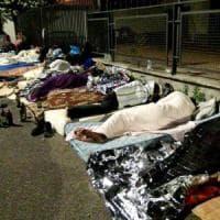 Roma, Scorticabove: i rifugiati sudanesi dormono in strada dopo lo sgombero