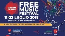 Forte Ardeatino, torna ArdeForte-Free music festival