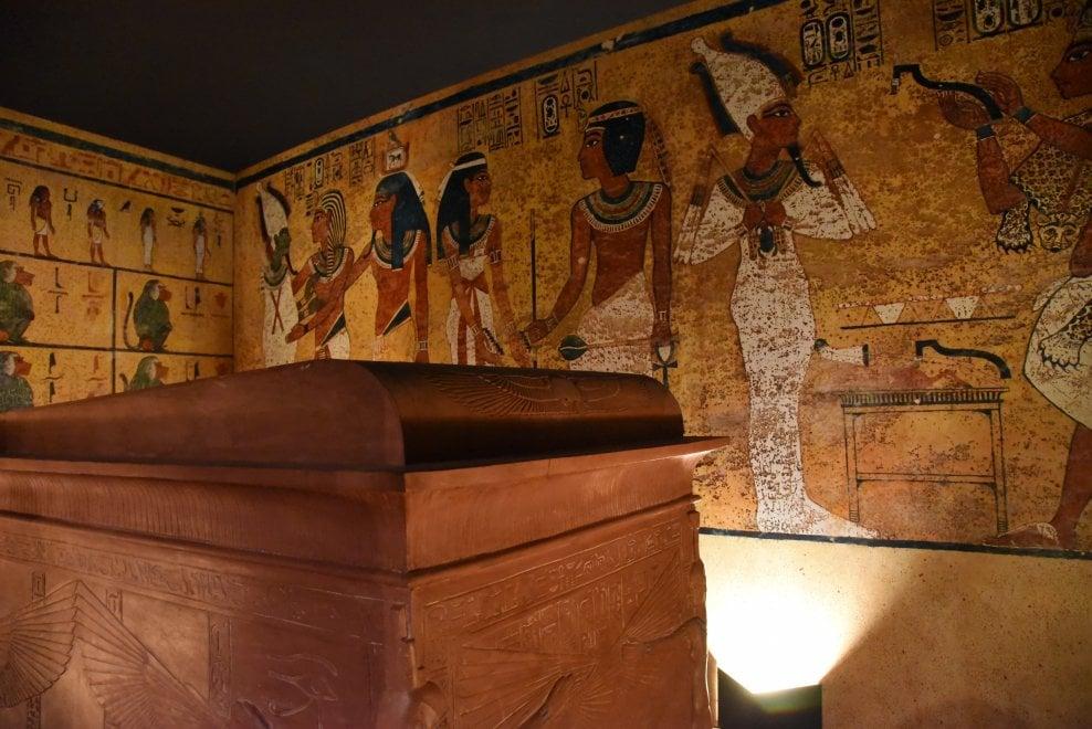 """Roma, mostra a Viterbo le copie dei """"Tesori di Tutankhamon"""" a Palazzo dei Papi"""