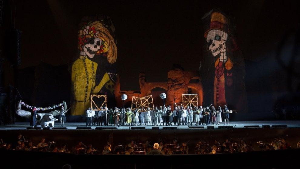 Terme di Caracalla: Carmen stile Usa-Mexico in scena dal 14 luglio
