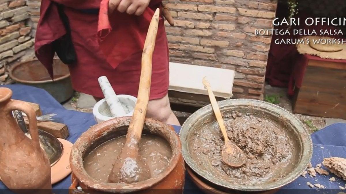 Ostia antica in domus e tabernae tutti i segreti dei cibi for Cibi romani