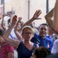Tifosi francesi in festa a Roma