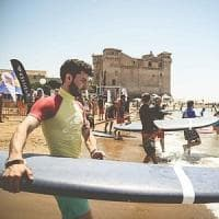 Santa Severa, tre giorni di paddle, surf e beach volley