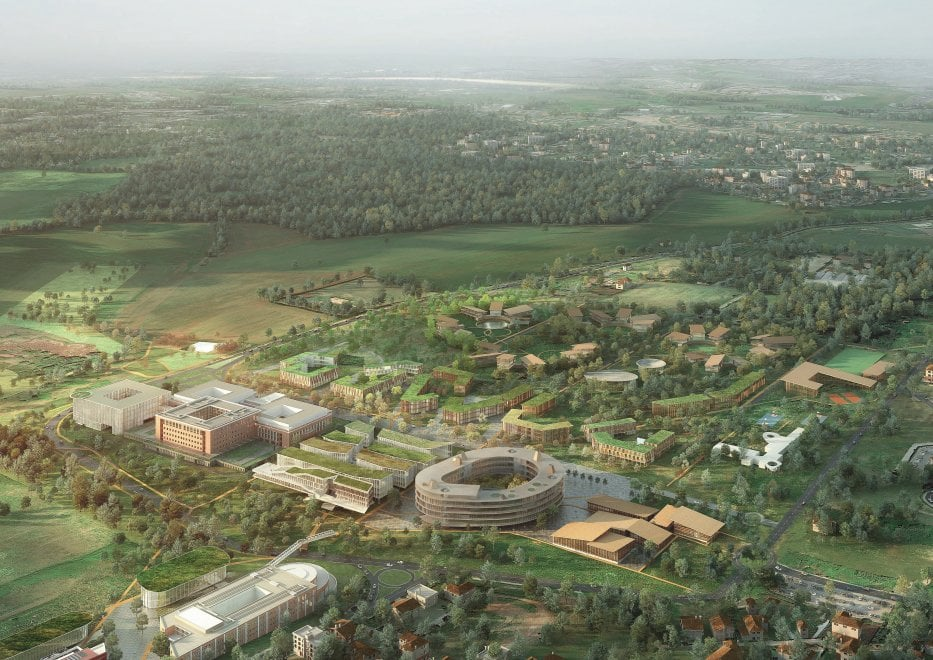 Roma un concorso di architettura per il raddoppio del for Studi di architettura roma