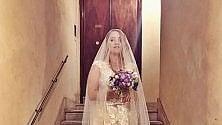 Noemi, nozze romane  sì al suo Gabriele Greco