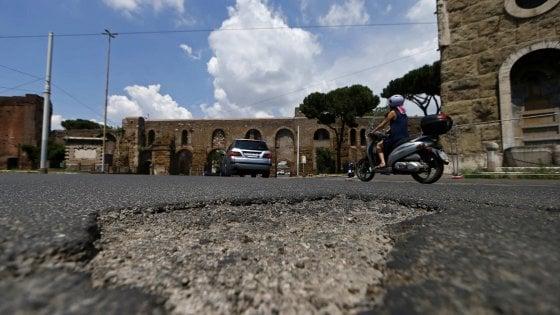 Roma, cento detenuti per le buche: intesa tra Dap e Autostrade