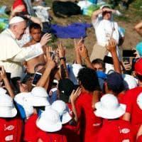 Roma, il Papa al Circo Massimo con 70 mila giovani da tutta Italia: