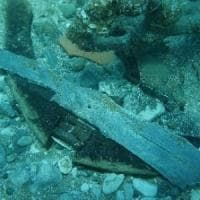 San Felice Circeo, tombaroli distruggono àncora antica riemersa a luglio