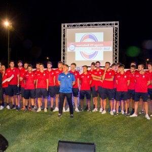Civita Castellana, una notte di festa con tutte le società di calcio