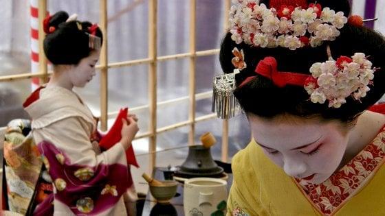 C'è una geisha a spasso per Roma