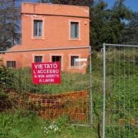 Roma, nuovo sgombero alla Casina Rossa dentro Villa Pamphilj