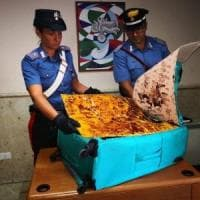 Aveva 4,5 kg di eroina nel trolley: fermato a Roma