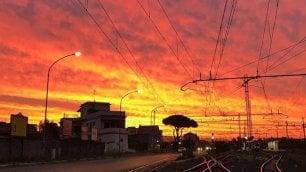 Magia di colori, su Roma l'alba è uno spettacolo  ft