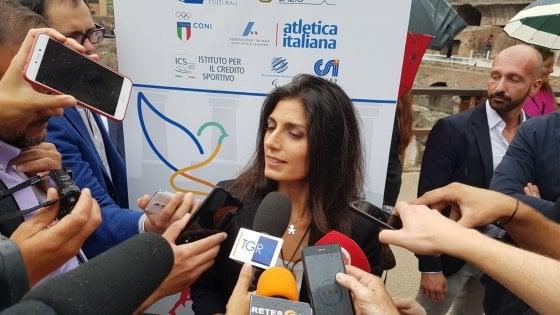 """Olimpiadi, Raggi: """"Se cambia modello Roma potrebbe candidarsi"""""""