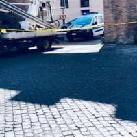 Roma, lavori sulle mura a Porta Castello: traffico in tilt