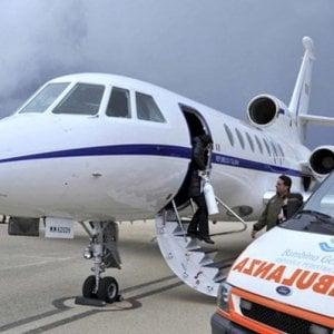 Volo militare Catania-Roma per il bimbo in pericolo di vita portato al Bambino Gesù