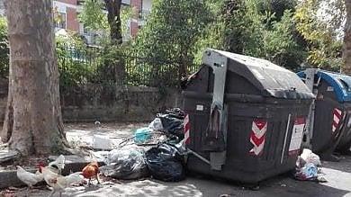 Immondizia, caos nella raccolta porta a porta: rivolta da Casal Palocco a Ostia   Video  Slalom tra i rifiuti in strada