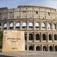 Amazon, al via il servizio di consegna entro un'ora a Roma