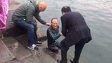 Ponza-Ventotene a nuoto Cimmino, eroe del mare