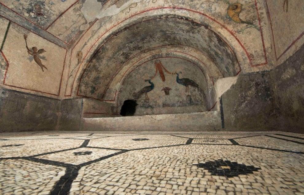 Archeologia, restaurati e aperti a Roma i mausolei di Saxa Rubra