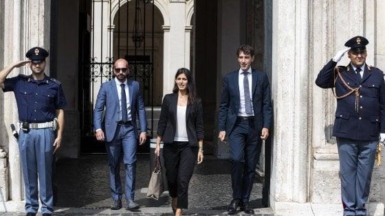 """Roma, incontro Raggi-Conte. La sindaca: """"Da Governo ok ai poteri speciali"""""""