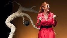 """Gabriella Greison  in """"Einstein & me""""  alla sala Umberto"""