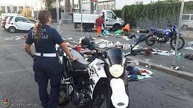 Baraccopoli e insediamenti abusivi gli smantellamenti della polizia locale