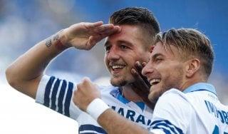Lazio-Genoa 4-1, doppietta di Immobile e gol di Caicedo e Milinkovic