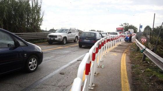 Fiumicino, il Ponte Scafa riaperto al doppio senso di marcia