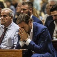 La Roma in lutto saluta Giorgio Rossi: al funerale De Rossi, Totti e Di Francesco