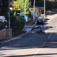 Roma, pacco sospetto in via Fani vicino alla lapide per ricordare Moro: