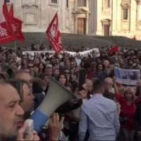 Sindaco di Riace, all'Esquilino il sit-in di solidarietà per Mimmo Lucano:
