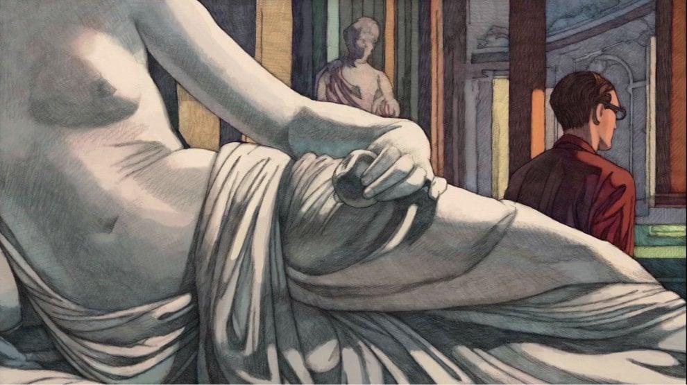 Vuitton celebra Roma con i disegni di Miles Hyman: cento tavole dell'illustratore Usa a Palazzo Poli