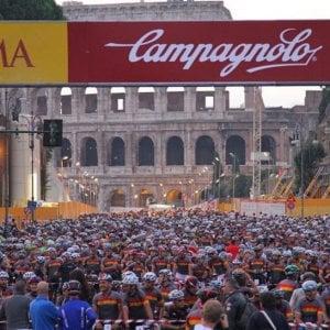 Un fiume di bici per Roma: arriva la Gran Fondo, anche per famiglie